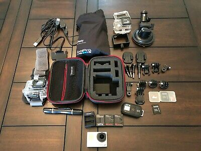 Great Condition GoPro Hero 3+ Black Edition with Tons of Accessories