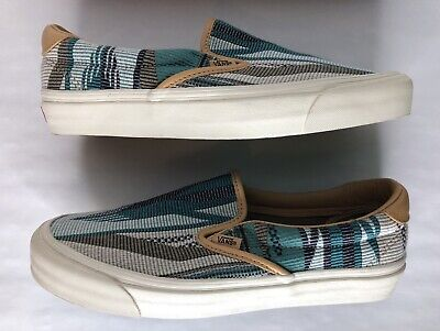 9f16043772 Men s Vans slip on 11 vault taka hayashi og classic 59 lx chimayo golden  brown