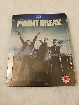 Point Break STEELBOOK Blu Ray UK SOLD OUT Limited Ed SEALED RARE