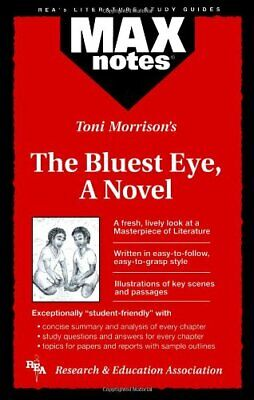 """Bluest Eye"", a Novel (MaxNotes) by Hubert, Christopher A. Paperback Book The"