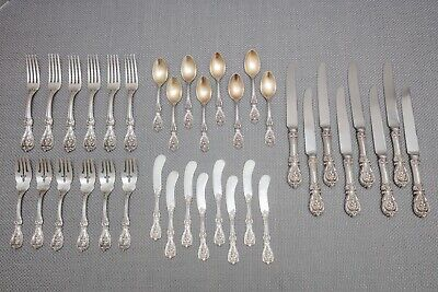 Reed & Barton Francis I 1 Sterling Silver Set, Service for 6, Old Mark, 36 Piece