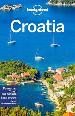 NEW Croatia By Lonely Planet Travel Guide Paperback Free Shipping