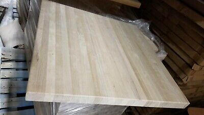 """24""""X30""""  Solid Oak Butcher Block Counter Table Top indoor use unfinish sanded"""