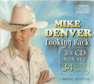 Mike Denver - Lookin Back - Mike Denver CD W8VG The Cheap Fast Free Post The