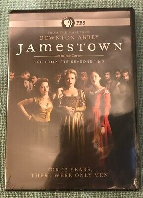 Jamestown The Complete Seasons 1 & 2 PBS From The Makers Of Downton Abbey NEW
