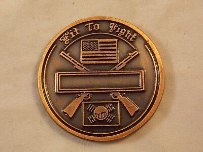 """US Army Challenge Coin, 2d Infantry Division, """"Second to None"""""""