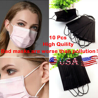 US New Anti-Dust Medical Face Mouth Mask Disposable Health Mouth-Muffle Masks 10