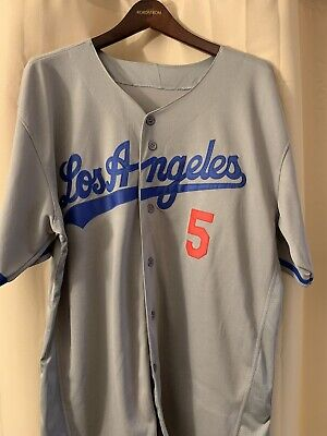 best service a2021 dc873 NWT LOS ANGELES Dodgers MLB Corey Seager 5 Away Grey ADULT ...