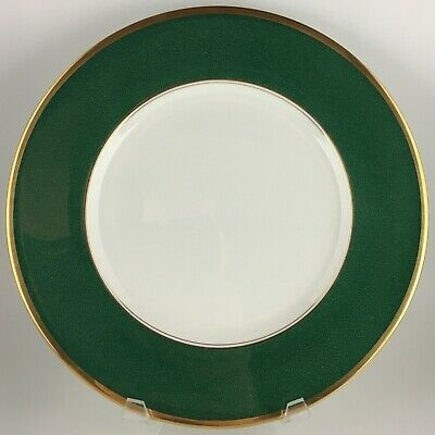 Coalport Athlone Green Dinner plate