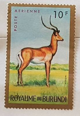 Collection timbres postales Royaume du Burundi