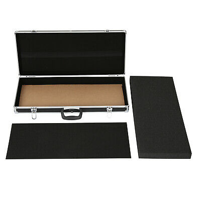 Pedal Board Heavy Duty Aluminum Flight Case For Guitar Effects Pedals Travel UK