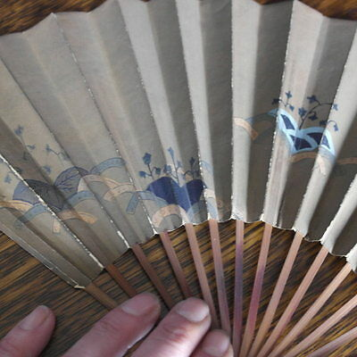 antique hand painted chinese  FAN