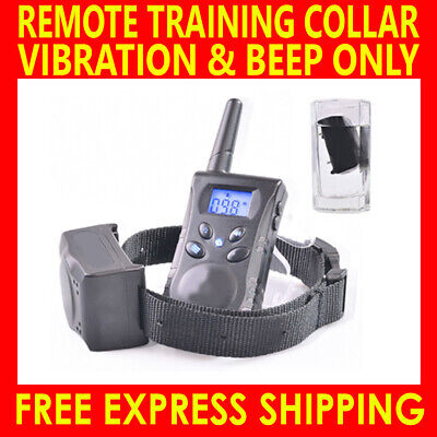 Anti Bark Dog Training Collar Sound Rechargeable Remote Control Stop Barking