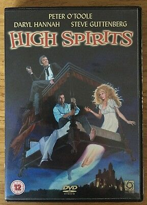High Spirits DVD - Very Rare Region 2 UK 2009 Release. Peter O'Toole Neil Jordan