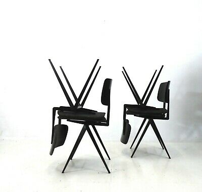 COMPASS Chairs Stuhl, 50er industriele design