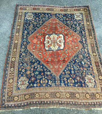 Ancien tapis turc Turkish carpet serapi heriz ?