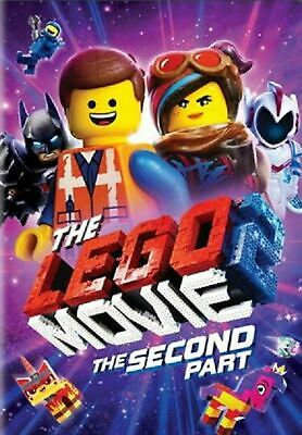 The Lego Movie 2: The Second Part (DVD 2019) Ships From USA