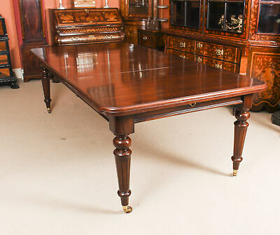 Antique 8ft Victorian Extending Dining  Table C1870