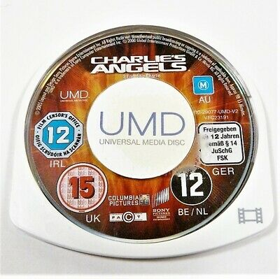 "Charlies Angels Movie Disk Only Psp ""Gc"" Auz Seller"