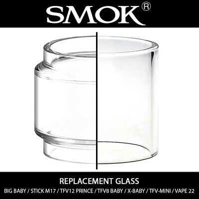 Smok Replacement Glass - Big Baby | M17 | TFV12 Prince | TFV8 Baby | X-Baby