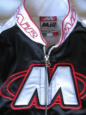 MIR Kart Racesuit CIK FIA Level 2 Karting Suit Red/Blk/White Size 46 150/160cm