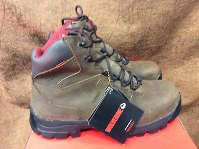 Wolverine Men/'s Chisel Low Steel Toe Boots Brown #W10240  MB NEW//box!!