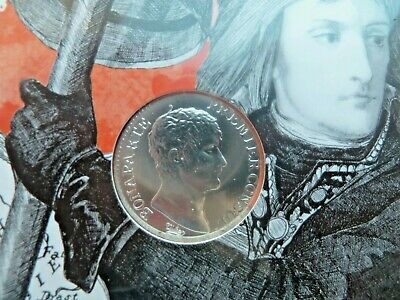 10 EURO Coin : FRANCE : NAPOLEON : SILVER : NEW SEALED IN PROMO PACK : 2019 UNC