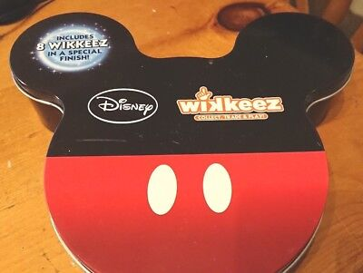 RARE Collectable Disney Wikkeez x 20 with Special Tin
