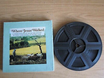 Super 8mm sound 1x400 WHERE JESUS WALKED. Columbia Films documentary.