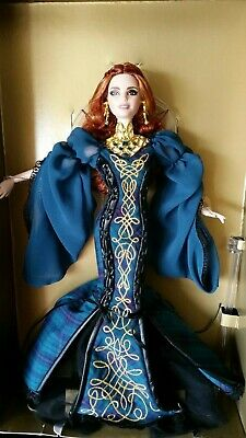 2017 Gold Label Global Glamour SORCHA Barbie doll + Shipper NRFB