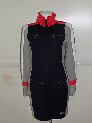 Kangaroos Krs&Co Vestito Abito Dress Vest Donna Made In Italy Tg.m   577