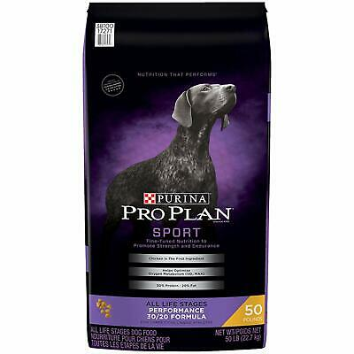Purina Pro Plan High Protein ; SPORT Performance 30/20 Formula  - 50 lb. Bag