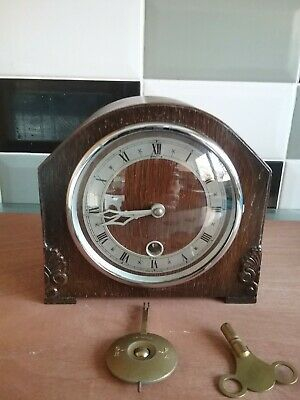Mantle Clock.....timepiece Only.....non Striking And Not Westminster Chime