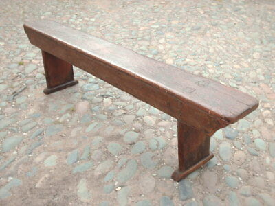 Antique Victorian  Rustic  Pine  Bench