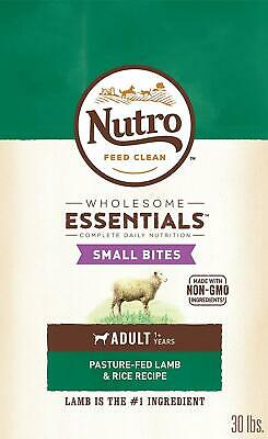 Nutro Wholesome Essentials Adult Dry Dog Food Small Bites Lamb & Rice -  30 Lb.