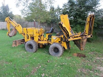 TREE SPADE 4X4 articulated with backhoe