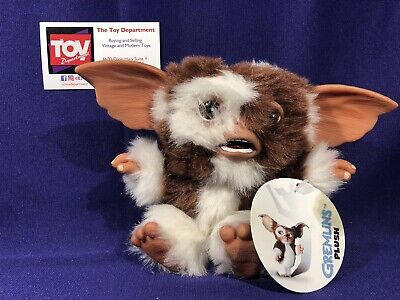 "NECA Reel Toys GREMLINS Mogwai Scared Face Gizmo 6"" Plush Figure Brand New"