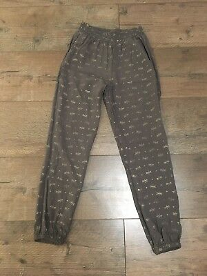 H&M Girls Trousers Age 7-8