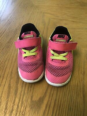 552ad9a682 TODDLER GIRLS SIZE 7 Nike Flex Experience 3 TDV Sneakers - Blue ...