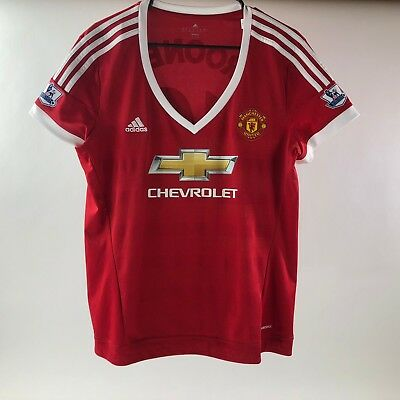 346a2677b45 ADIDAS Women s Manchester United Climacool Wayne ROONEY Soccer Jersey Size  XL