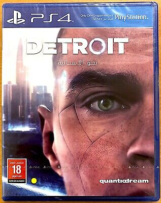 Detroit - Become Human - Playstation PS4 Games - Brand New & Sealed