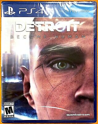 Detroit - Become Human - PS4 Playstation Games - Brand New & Sealed
