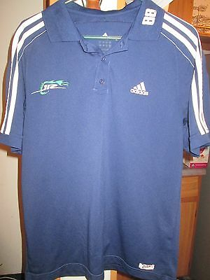 fdd2c51ab Jr. Motorsports #88 Polo short sleeved Navy Team shirt by Adidas Size Large