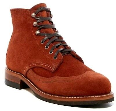 61448eef189 WOLVERINE 1000 MILE Mens Evans Wingtip Leather Boots AUTUMN US 11 M Made in  USA!