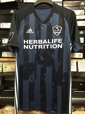 9a56eae1aa4 Adidas Mls La Galaxy Away Stadium Jersey 2019 Navy White Size Small Only