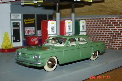 1961 Chevrolet Corvair, 1:43, O Scale, Dinky, New in Box