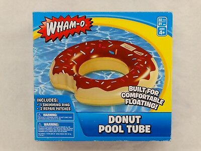 36118 FLOAT BEACH SWIMMING POOL DAMAGED PACKAGING INFLATABLE DONUT SWIM RING