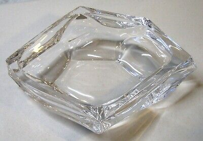 "Daum France Crystal 14"" Free Form Bowl"