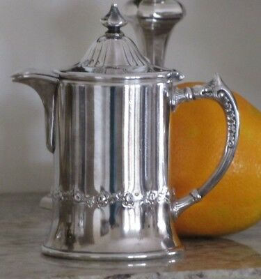 Pairpoint Silver Syrup Pitcher