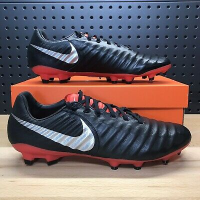 the latest abced ade1e Nike Tiempo Legend VII 7 Pro FG Soccer Cleats Black Red Men s Size 11.5